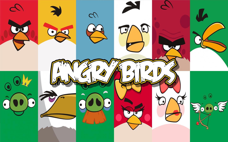 Angry birds széles vásznú háttérkép