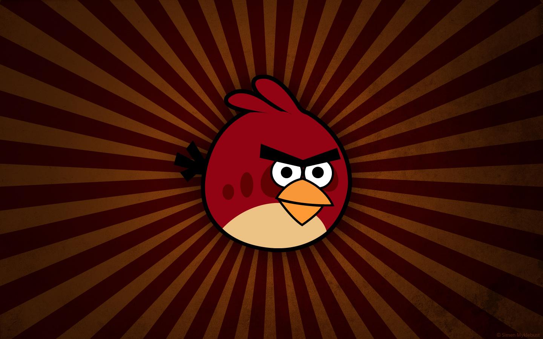 Angry Birds piros csirke háttérkép