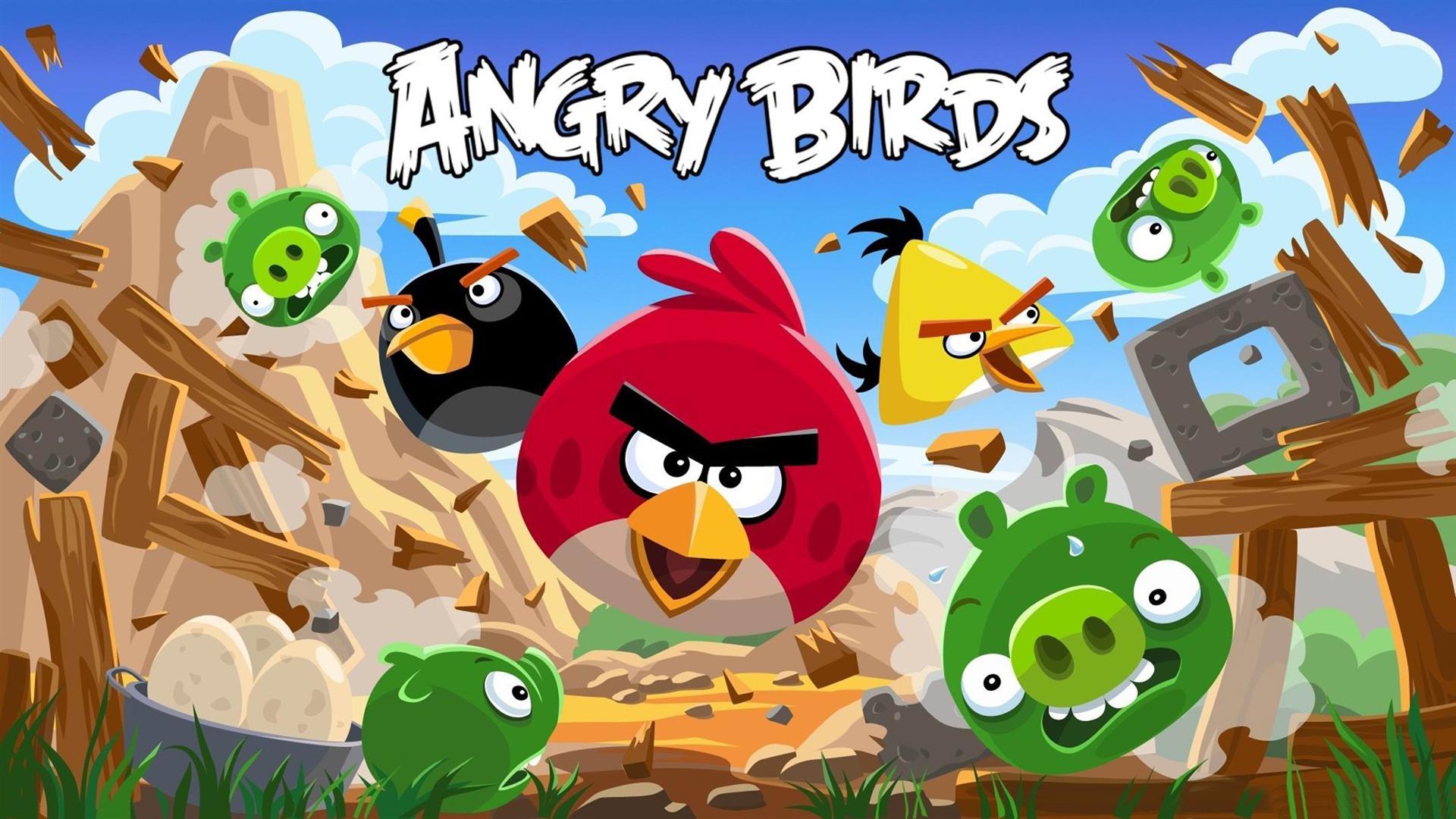 Angry Birds HD season háttérkép