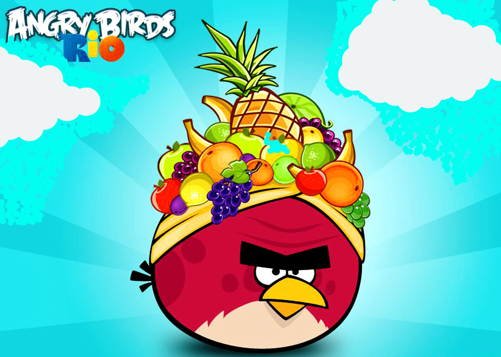 Angry Birds Rio háttérkép