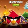 Angry Birds Space csirkés háttérkép