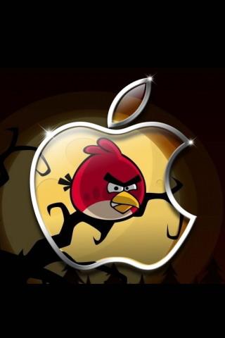 Angry Birds apple háttérkép telefonra iphone