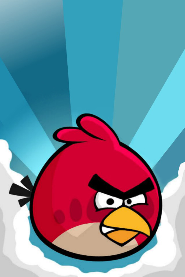 Angry birds telefon háttérkép