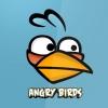 Angry birds kék játék mobil háttérkép