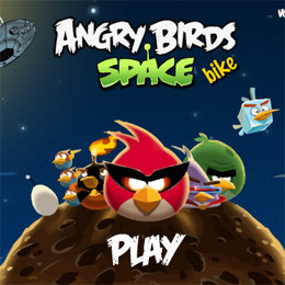 Angry Birds Space biciklis játék angry birds játék kép