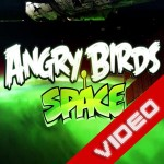 Angry Birds Space csirkék video