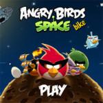 Angry Birds Space biciklis játék