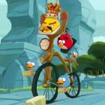 Angry Birds biciklis játék videó