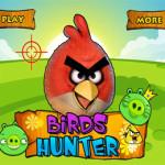 Angry Birds vadászat