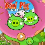 Zöld malac szerelem Angry Birds játék