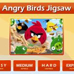 Szuper kirakós Angry Birds játék