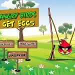Tojás szedegetés Angry Birds játék