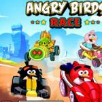 Autós futam Angry Birds játék