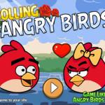 Rózsa gyűjtés Angry Birds játék