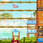 Tojás dobálós Angry Birds játék