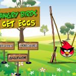 Tojás szedés katapulttal Angry Birds játék