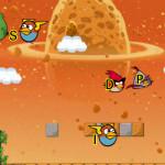 Gépelj gyorsan Angry Birds játék