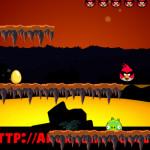 Tojás és gyémánt gyűjtés Angry Birds játék