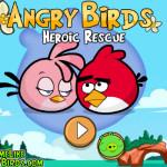 Véd meg a szerelmed Angry Birds játék