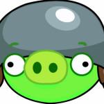 Zöld malac támadás Angry Birds játék