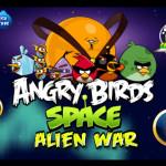Alien támadás Angry Birds játék