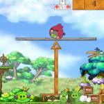Egyensúlyozós Angry Birds játék