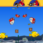 Nagy horgászos Angry Birds játék