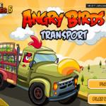 Autós szállítmányozás Angry Birds játék