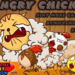 Csibék és macskák Angry birds játék