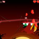 Madár szeletelés Angry Birds játék