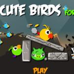 Őrült malac támadás Angry Birds játék