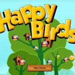 Boldog madár Angry Birds játék