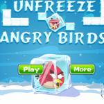 Fagyasztott madarak Angry Birds játék