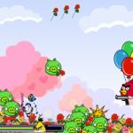 Rózsák védelme Angry Birds játék