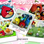 Szuper képek kirakós Angry Birds játék