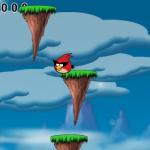 Ugrás a magasba Angry Birds játék