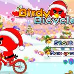 Téli biciklizés Angry Birds játék